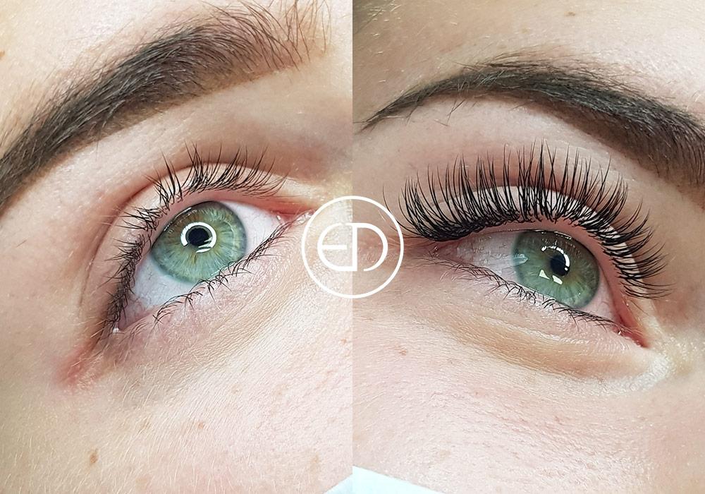 Extension de Cils - Avant et après, images, photos, galerie, Eye Designer