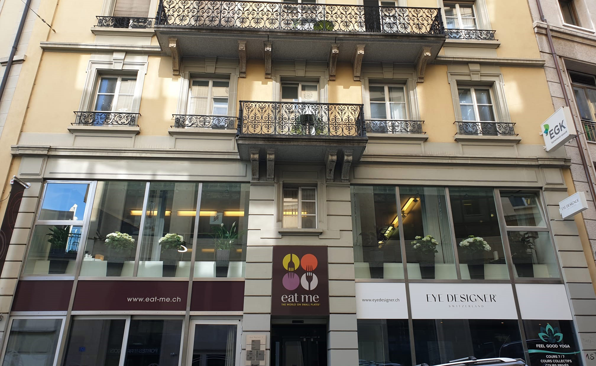Rue Pépinet 3,  Lausanne, Eye Designer