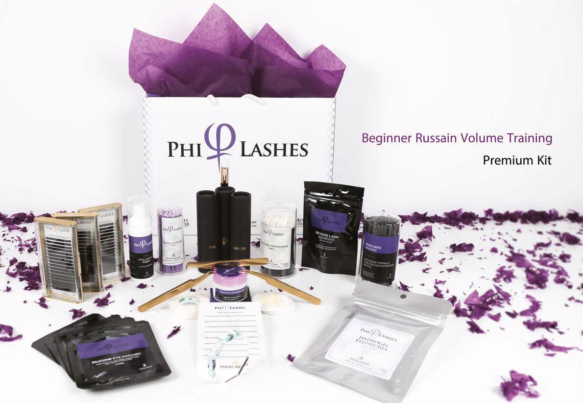 PhiLashes, Volume Russe Débutants, Volume Russe, formation, course, Eye Designer, PhiAcademy